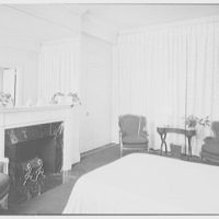 Harvey Newins, residence at 1 Beekman Place, New York City. Guest room II