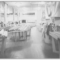 Hearn's, business at 78 5th Ave., New York City. Piece goods department, low viewpoint