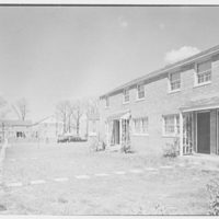 Highland Dwellings, Washington, D.C. Front view in court