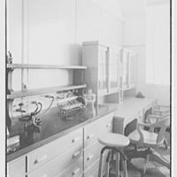 Hoffmann-LaRoche Inc., Nutley, New Jersey. Building no. 1, micro-chemistry department office
