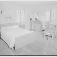 Irving Hartley, residence on Cat Rock Rd., Cos Cob, Connecticut. Master bedroom I
