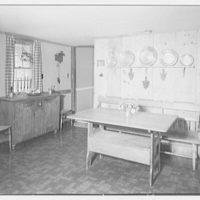 Kurt Wiese, residence in Frenchtown, New Jersey. Kitchen III
