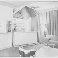 L. Kossov, residence at 101 Central Park West, New York City. Bar open in man's room