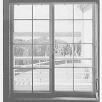 Lewis Stuyvesant Chanler, Jr., residence in Rhinebeck, New York. Entrance hall, window II