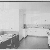 Lewis Stuyvesant Chanler, Jr., residence in Rhinebeck, New York. Kitchen