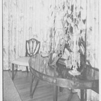 Mr. and Mrs. James R. Sheldon, Caliboque, residence in Greenwich, Connecticut. Dining room II