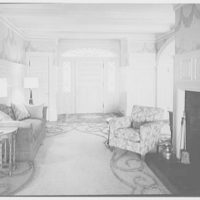 Mr. and Mrs. James R. Sheldon, Caliboque, residence in Greenwich, Connecticut. Entrance hall