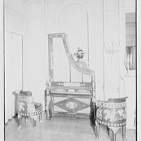 Mrs. John Kean, residence at 863 Lexington Ave., New York City. Harpsichord