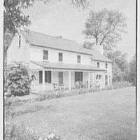 Mrs. John Taylor, residence in Stockton, New Jersey. Exterior I