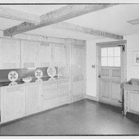 Mrs. John Taylor, residence in Stockton, New Jersey. Kitchen III