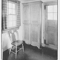 Mrs. John Taylor, residence in Stockton, New Jersey. Pot closet, closed