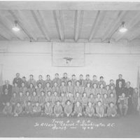 National Cathedral. Boy Scout troop no. 5, Saint Albans, National Cathedral, March 1944