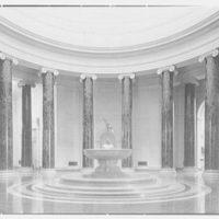 National Gallery of Art, Washington, D.C. Rotunda, horizontal, evening