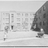 Newark Housing Authority, 57 Sussex Ave., Newark, New Jersey. Baxter exterior