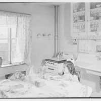 Newark Housing Authority, 57 Sussex Ave., Newark, New Jersey. Baxter kitchen