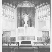 Our Lady of Mercy Church, 2500 Marion Ave., Bronx, New York. Altar, general view