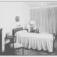 Our Lady of Mercy Church, 2500 Marion Ave., Bronx, New York. Rectory, bedroom