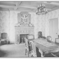 Our Lady of Mercy Church, 2500 Marion Ave., Bronx, New York. Rectory, dining room