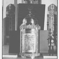 Our Lady of Mercy Church, 2500 Marion Ave., Bronx, New York. Tabernacle, uncovered