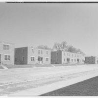 Parkside Housing Development, Washington, D.C. Street view I