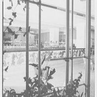 Pennsylvania Station cocktail room, W. 30th St., Philadelphia. Cocktail room IV, detail through grille