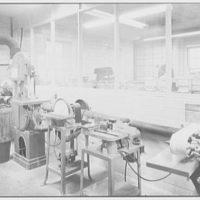 Pittsburgh Plate Glass Co., Columbia Chemical Division, Barberton, Ohio. Laboratory, resin sample preparation room