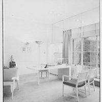 Raymond Loewy Associates, 580 5th Ave., New York City. Mr. Loewy's office I