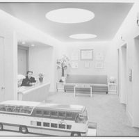 Raymond Loewy Associates, 580 5th Ave., New York City. Reception foyer I