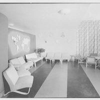 Service Women's Lounge, Broad St. Station, Philadelphia, Pennsylvania. General view of lounge