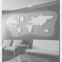Service Women's Lounge, Broad St. Station, Philadelphia, Pennsylvania. Map detail, in lounge