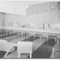 Service Women's Lounge, Broad St. Station, Philadelphia, Pennsylvania. Powder room, from corner