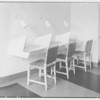 Service Women's Lounge, Broad St. Station, Philadelphia, Pennsylvania. Writing desks