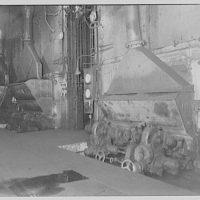U.S. Capitol power plant. Coal hoppers alteration in boiler room of U.S. Capitol power plant III