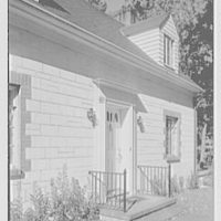 Arthur S. Halpin, residence in Hyde Park, Dutchess County, New York. Exterior IV