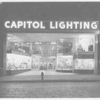Capitol Lighting, business at 379 1/2 Springfield Ave., Newark, New Jersey. Exterior I