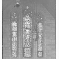Church of St. Stephen, Laurel and Kearny Aves., Arlington, New Jersey. Window in nave