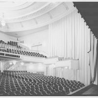 Coronet Theatre, W. 49th St., New York City. House from stage