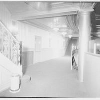 Coronet Theatre, W. 49th St., New York City. Rear of orchestra