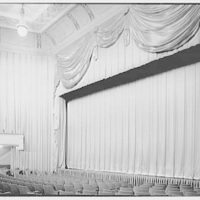 Coronet Theatre, W. 49th St., New York City. Stage from right