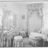 Coronet Theatre, W. 49th St., New York City. Star's dressing room