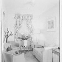 Coronet Theatre, W. 49th St., New York City. Star's sitting room