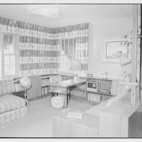 Cy Cayne, residence on Sound View Ln., King's Point, Long Island. Boy's room I