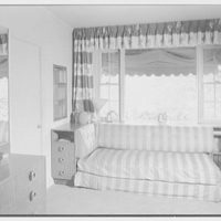 Cy Cayne, residence on Sound View Ln., King's Point, Long Island. Boy's room II