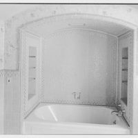 Dr. Charles V. Paterno, Round Hill, residence in Greenwich, Connecticut. Master bathroom