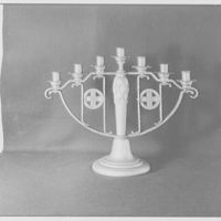 Frederick G. Necker, business at 3410 Broadway, New York City. Candelabra