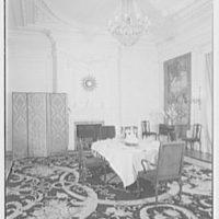 French Embassy, Washington, D.C. Dining room