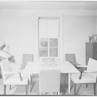 F.W. Hobbs, residence at 34-14 81st St., Jackson Heights, Queens. Dining room III