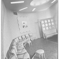 Jack's Juvenile Shoes, business at 96-14 Queens Blvd., Rego Park. Interior, to rear