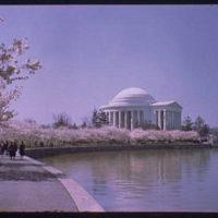 Jefferson Memorial. Exterior of Jefferson Memorial from across Tidal Basin XXXV