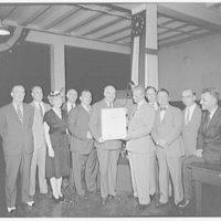 Judd & Detweiler, Inc. Award ceremony with certificate of merit I